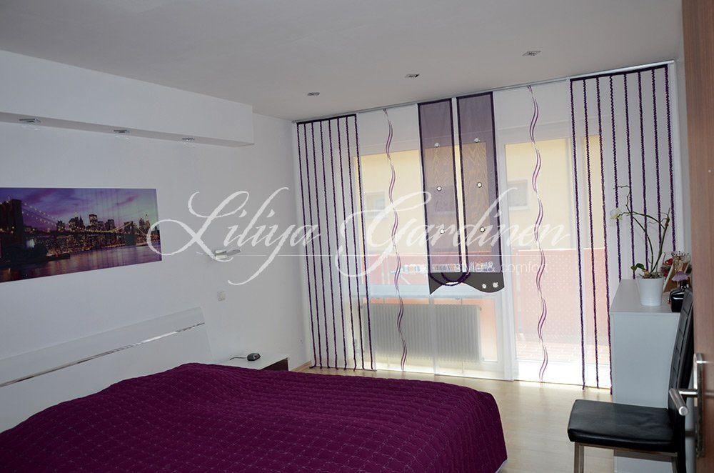 moderne schlafzimmer gardinen nach ma fensterdeko nach ma. Black Bedroom Furniture Sets. Home Design Ideas